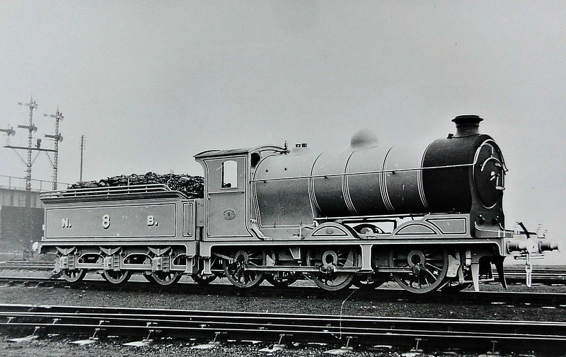 8 - Reid NBR Class B LNER Class J37 0-6-0 - built 12/14 by Cowlairs Works - 09/25 to LNER No.9008, 05/46 to LNER No.4536, 11/48 to BR No.64536 - 05/59 withdrawn from 64A St Margarets.