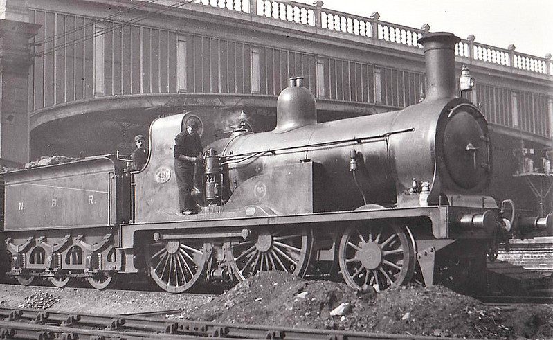 424 - Wheatley NBR Class P LNER Class E7 2-4-0 - built 1873 by Cowlairs Works - 1915 to NBR No.1245, 1923 to LNER No.10245 - 07/25 withdrawn from Tweedmouth MPD.
