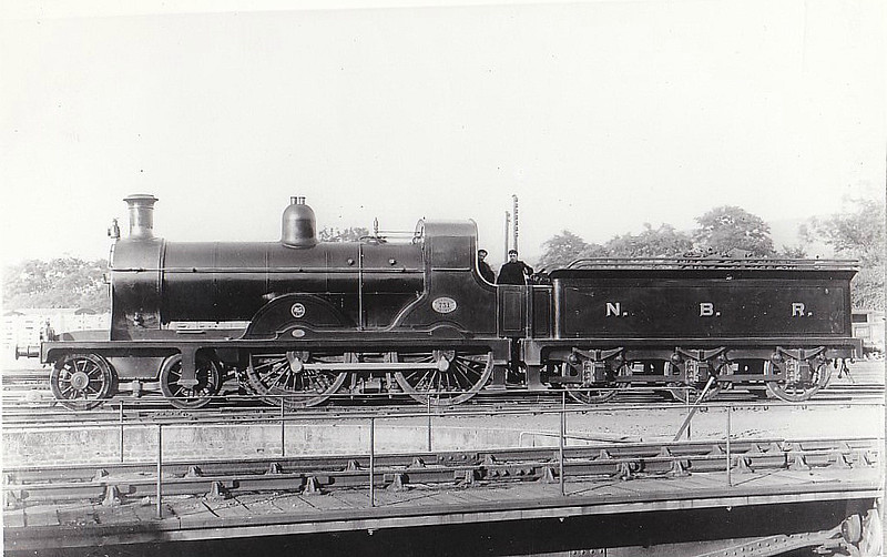 731 - Holmes NBR Class 729 LNER Class D31 4-4-0 - built 04/1898 by Cowlairs Works - 01/22 rebuilt as NBR Class M - 10/24 to LNER No.9734, 07/46 to LNER No.2064 - BR No.62064 not applied - 08/48 withdrawn from 61A Kittybrewster.