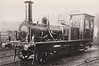312A - Caledonian & Dumbartonshire Railway 2-2-2WT - built 1850 by Neilson & Co. as C&DR 2-2-2 No.5 WEE SCOTLAND - 1856 rebuilt as 2-2-2WT by George England & Co. - 1865 to NBR No.312, 1895 to NBR No.312A, 1895 to NBR No.879, 1901 to NBR No.1079 - 1911 withdrawn - used as inspection saloon.