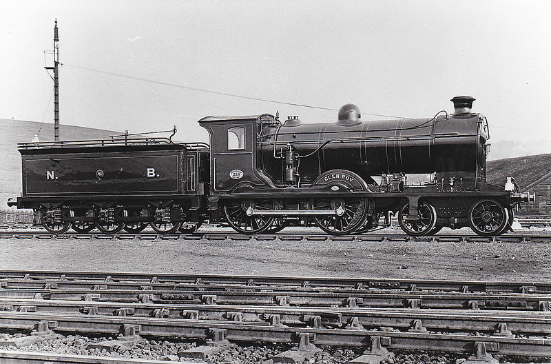 258 GLEN ROY - Reid NBR Class D34 4-4-0 - built 09/13 by Cowlairs Works - 1924 to LNER No.9258, 1946 to LNER No.2470, 09/48 to BR No.62470 - 05/59 withdrawn from 63A Perth South.