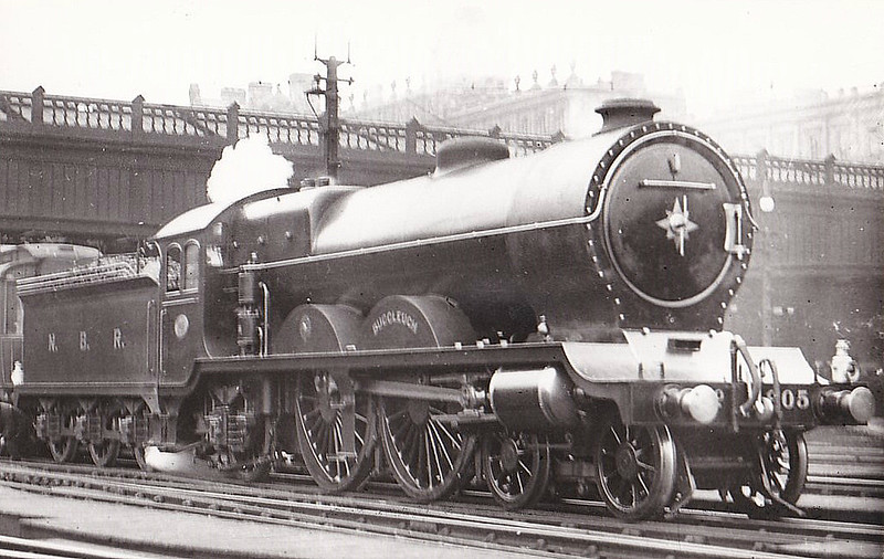 905 BUCCLEUCH - Reid NBR Class I LNER Class C10 4-4-2 - built 08/11 by Rober Stephenson & Co. - 05/24 rebuilt to Class C11 - 1924 to LNER No.9905 - 09/37 withdrawn from Carlisle Canal MPD.