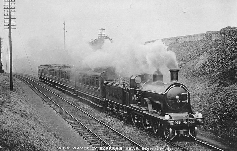 37 - Holmes NBR Class M LNER Class D31 4-4-0 - built 09/1890 by Cowlairs Works - 1911 rebuilt - 1923 to LNER No.9037 - 05/35 withdrawn from Aberdeen Ferryhill MPD.