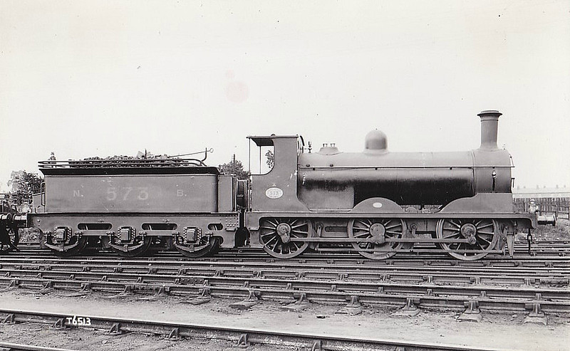 573 - Holmes NBR Class D LNER Class J33 0-6-0 - built 1883 by Cowlairs Works - 1923 to LNER No.9573 - 07/25 withdrawn from Carlisle Canal MPD.