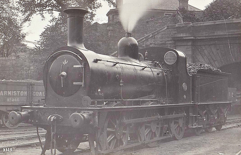 1 - Wheatley NBR Class R LNER Class J31 0-6-0 - built 1867 by Cowlairs Works - 1901 to NBR No.1150 - 1916 withdrawn.