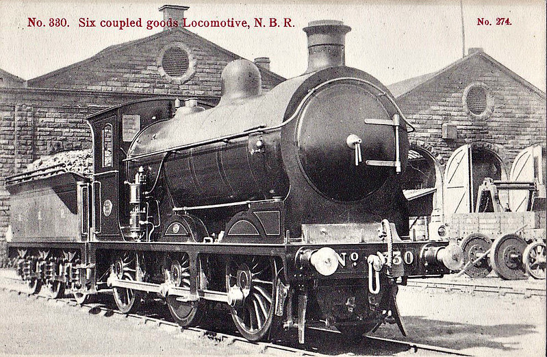 330 - Reid NBR Class B LNER Class J35 0-6-0 - built 07/06 by Cowlairs Works - 01/26 to LNER No.9330, 09/46 to LNER No.4471, 05/48 to BR No.64471 - 06/61 withdrawn from 66A Polmadie.