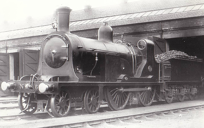 603 - Holmes NBR Class N LNER Class D25 4-4-0 - built 1888 by Cowlairs Works - 1923 to LNER No.9603 - 03/28 withdrawn from Hawick MPD - seen here at Haymarket.