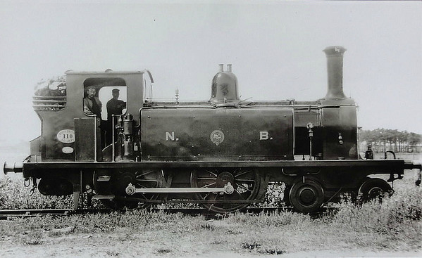 110 KINROSS - Drummond NBR Class R LNER Class D51 4-4-0T - built 1880 by Cowlairs Works - 01/21 to Duplicate List as No.1405 - LNER No.10405 not applied - 12/23 withdrawn.