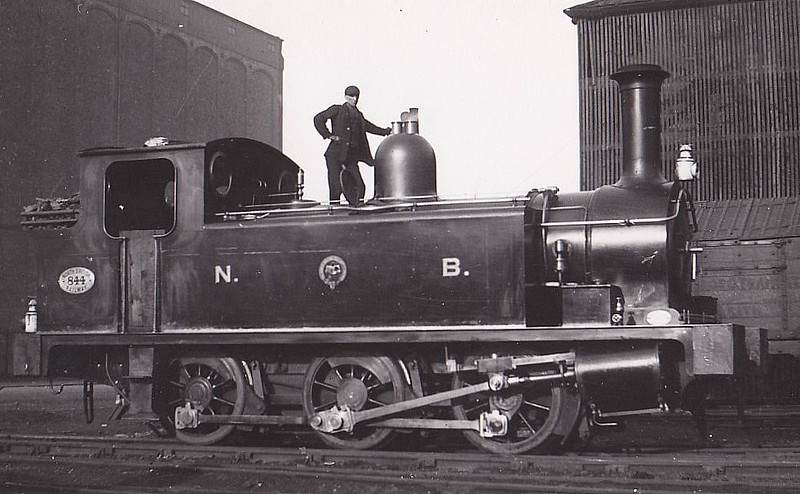 844 - Holmes NBR Class F LNER Class J88 0F 0-6-0T - built 09/05 by Cowlairs Works - 04/25 to LNER No.9844, 07/46 to LNER No.8328, 01/52 to NR No.68328 - 03/58 withdrawn from 64B Haymarket - seen here in Leith Docks.