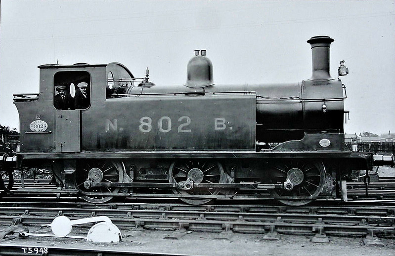 802 - Holmes NBR Class D LNER Class J83 0-6-0T - built 09/00 by Neilson & Co. - 05/24 to LNER No.9802, 03/46 to LNER No.8449, 08/48 to BR No.68449 - 09/58 withdrawn from 64A St Margarets.