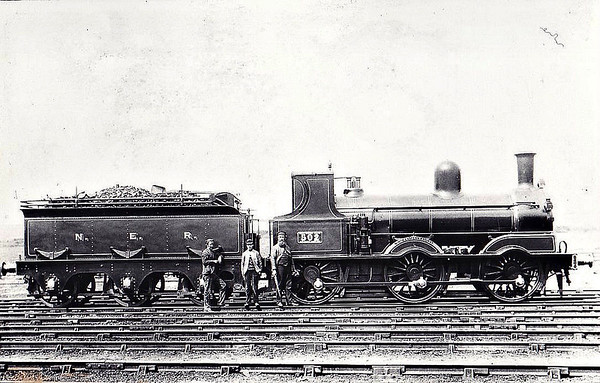 LOCOMOTIVES OF THE NORTH EASTERN RALIWAY
