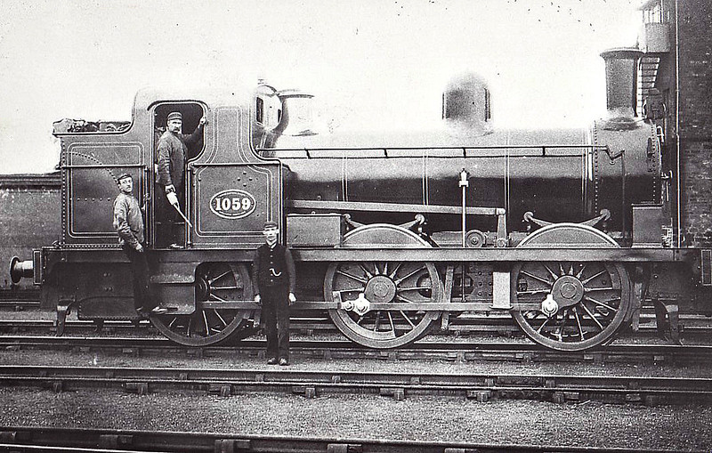 1059 - Fletcher NER Class 609 0-6-0WT - built 1881 by Dalrington Works - 1885 to Class 124 - from 1904 all refitted as 0-6-0ST - 1923 to LNER Class J76 - 1927 withdrawn.