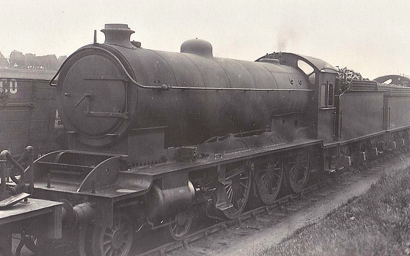 908 - Raven NER Class S3 LNER Class B16 4-6-0 - built 08/20 by Darlington Works - 10/46 to LNER No.1411, 03/50 to BR No.61411 - 09/61 withdrawn from 56D Mirfield - seen here in 1920.