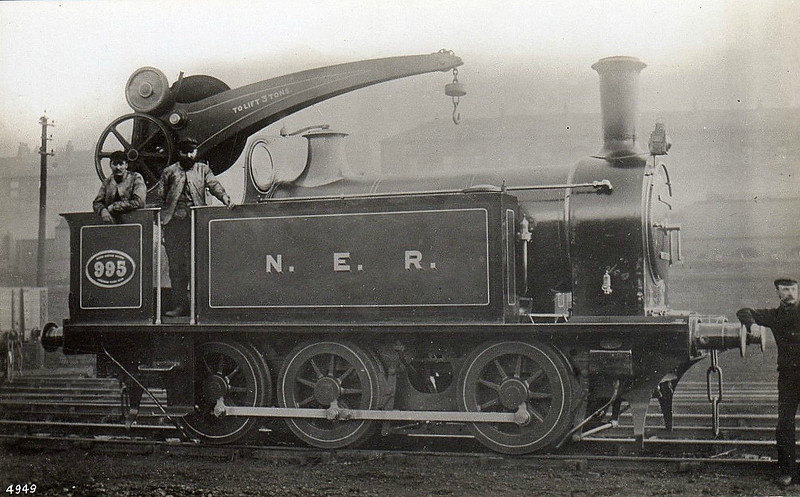 995 - Worsdell NER Class H1 LNER Class J78 0-6-0ST - built 1888 by Gateshead Works - 1933 withdrawn from Gateshead Works, where it had spent most of its working life - sold to Hartley Main Colliery as No.26 - 1943 withdrawn and scrapped.