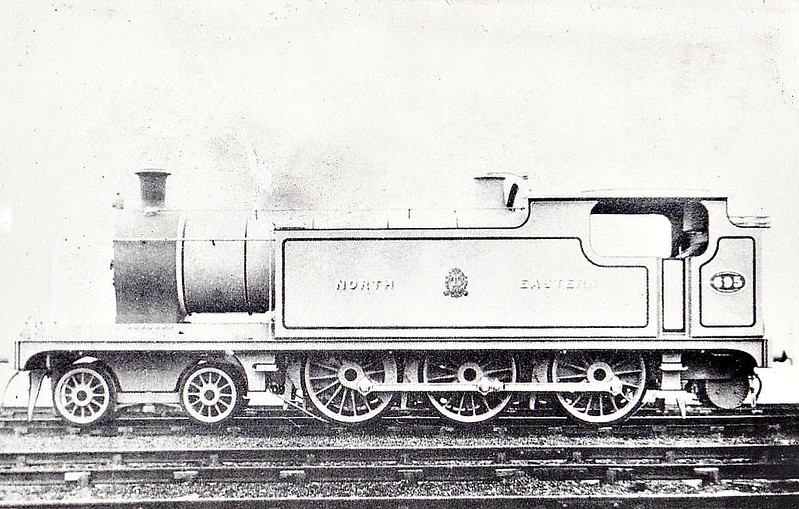 695 - Worsdell NER Class W 4-6-0T - built 04/08 by Gateshead Works - 1914 rebuilt by Raven as 4-6-2T - 1924 to LNER Class A6 - 07/46 to LNER No.9799 - BR No.69799 not applied - 02/50 withdrawn from 50D Starbeck.