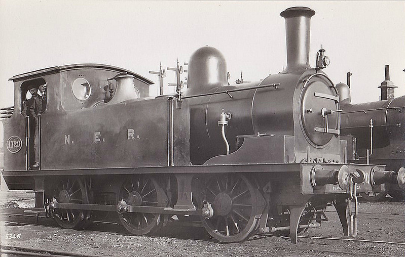 1720 - Worsdell NER Class E1 LNER Class J72 0-6-0T - built 03/1899 by Darlington Works - 04/46 to LNER No.8680, 10/49 to BR No.68680 - 10/61 withdrawn from 52A Gateshead.