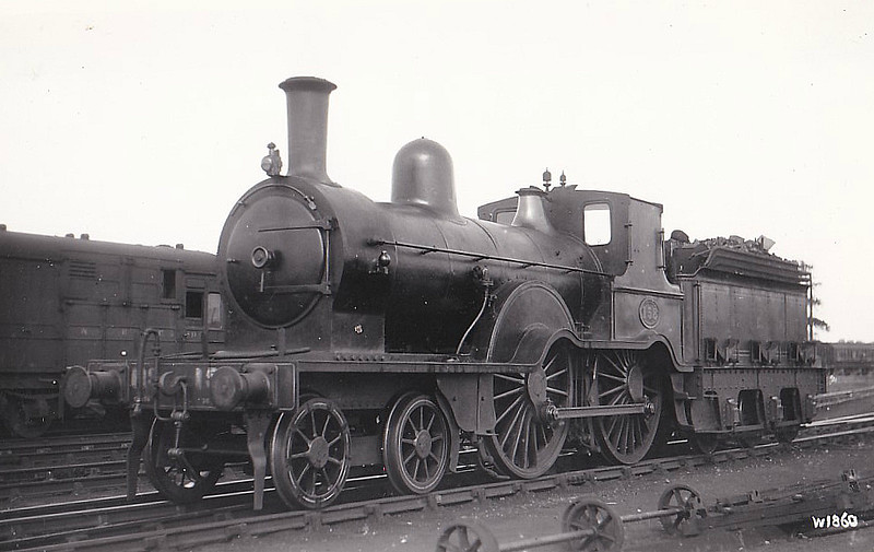 158 - McDonnell NER Class 38 4-4-0 - built 1884 by Gateshead Works - 1921 withdrawn.