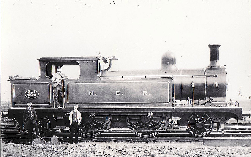 454 - TW Worsdell NER Class A LNER Class F8 2-4-2T - built 1887 by Gateshead Works - 02/34 withdrawn from North Blyth MPD.