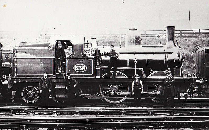638 - Fletcher NER Class BTP LNER Class G6 0-4-4T - built 1879 by Gateshead Works - 11/28 withdrawn from Saltburn.