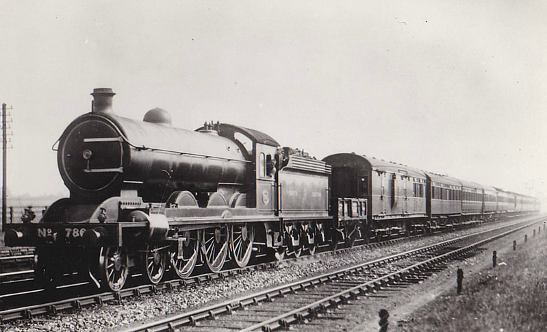 786 - Raven NER Class S2 LNER Class B15 4-6-0 - built 12/11 by Darlington Works - 09/37 withdrawn from Hull Dairycoates MPD.