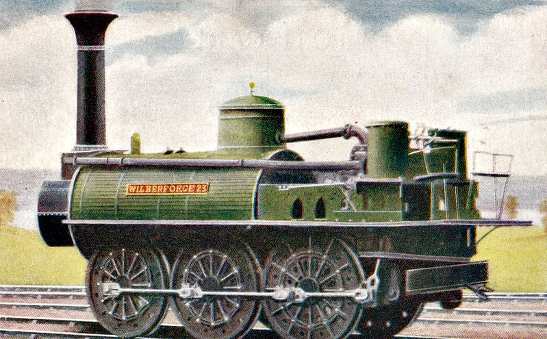 23 WILBERFORCE - S&DR 0-6-0 - built 1833 by RW Hawthorn & Co. - 1865 withdrawn.