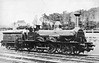114 EDWARD PEASE - Stockton & Darlington Railway 2-4-0 - built 1856 by Robert Stephenson & Co., Works No.1071 - 1863 to NER as No.1114 - 1877 withdrawn. Note two sets of buffers, inner pair for working with narrow-bodied industrial coal wagons.