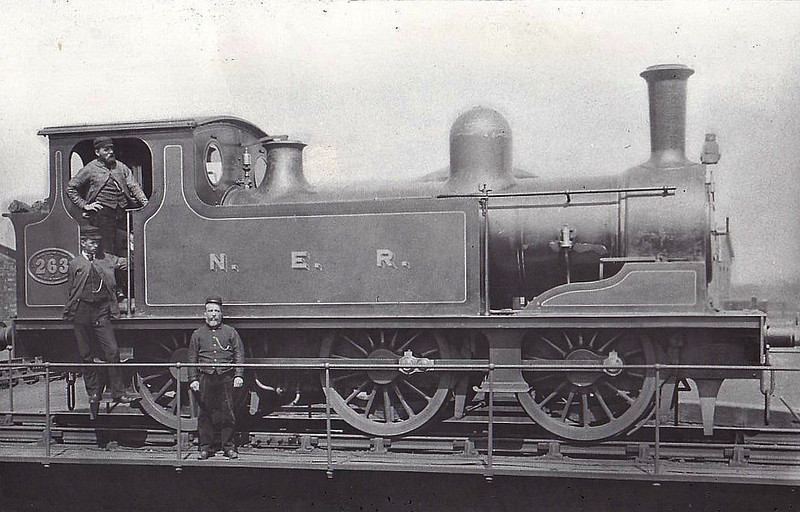 263 - Worsdell NER Class E LNER Class J71 0-6-0T - built 1887 by Darlington Works - 05/37 withdrawn.