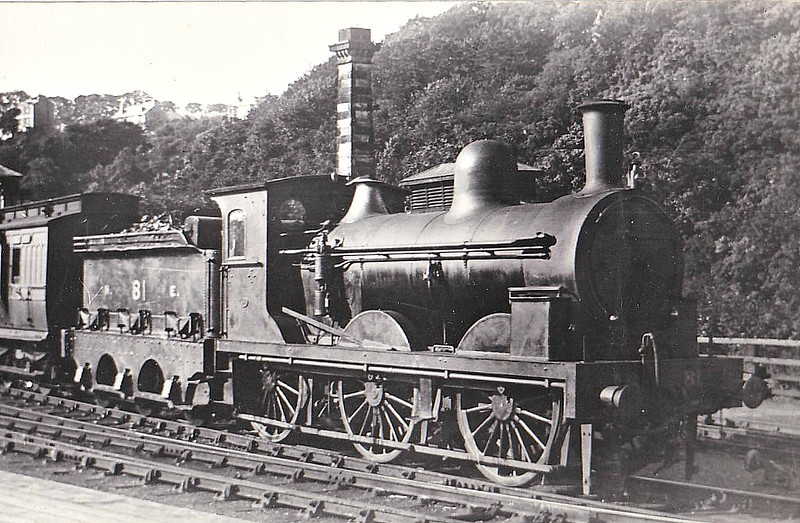81 - Fletcher NER Class 398 0-6-0 - built 1880 by Darlington Works - 1924 withdrawn.