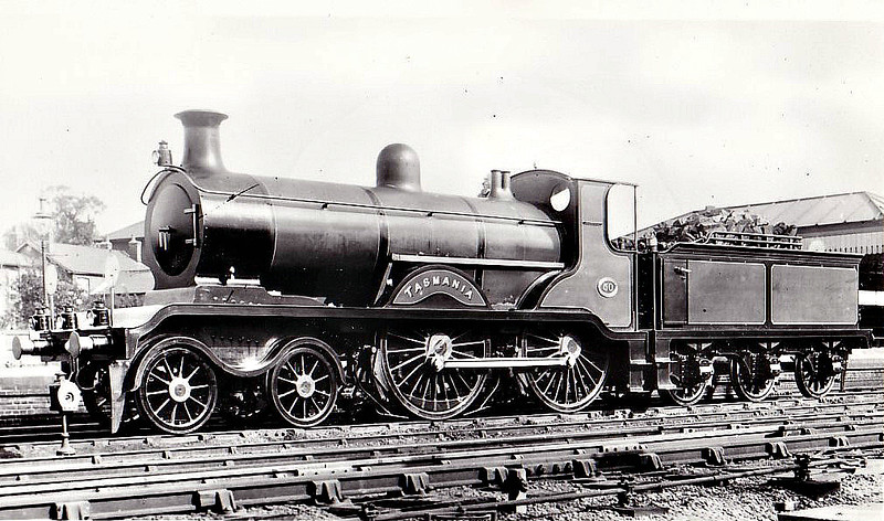 50 TASMANIA - Billinton Class B4 4-4-0 - built 07/01 by Sharp Stewart - 1931 to SR No.2050 - 01/36 withdrawn