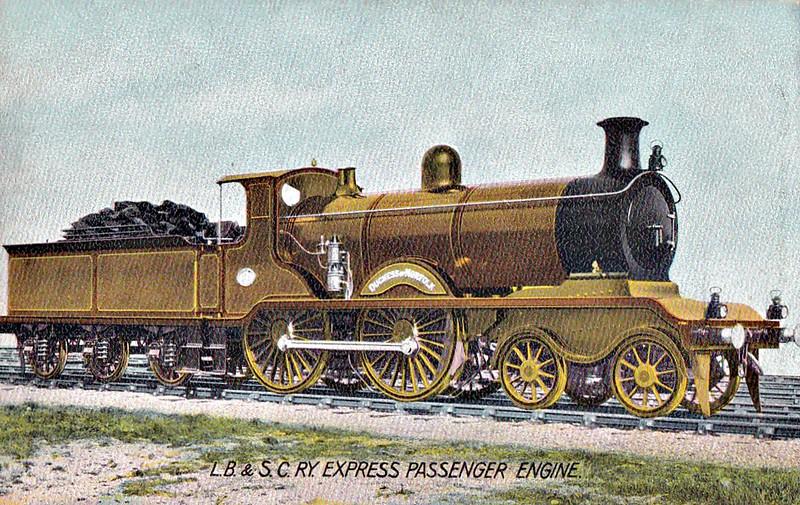 49 DUCHESS OF NORFOLK - Billinton Class B4 4-4-0 - built 07/01 by Sharp Stewart as LBSCR No.49 QUEENSLAND - 12/04 renamed DUCHESS OF NORFOLK - 1931 to SR No.2049 - 01/36 withdrawn.