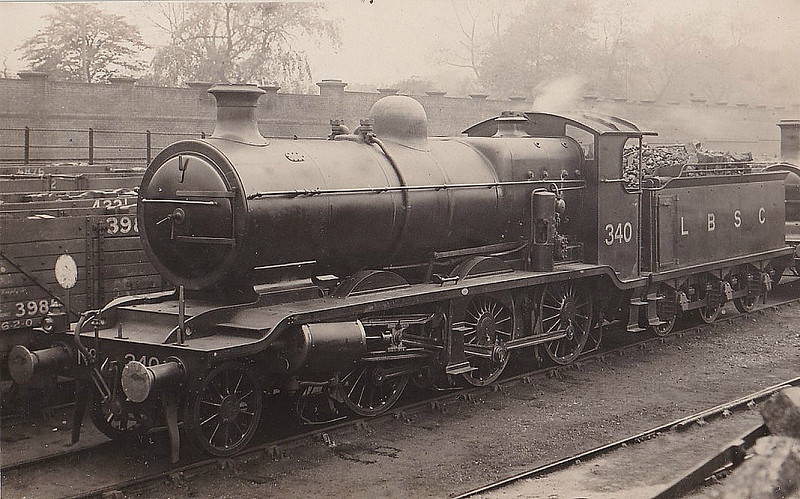 340 - Billinton LBSCR Class K 2-6-0 - built 06/14 by Brighton Works - 1931 to SR No.2340, 10/49 to BR No.32340 - 12/62 withdrawn from 75A Brighton.