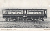 PETROL RAIL MOTOR No.4 - built 08/05 by Dick Kerr & Co. - used on trials against steam powered railcars and traditional steam-hauled trains - not a great success - 1923 to SR, 08/31 withdrawn from service - posted June 16th, 1906.