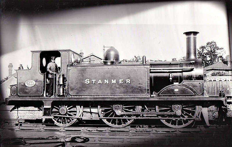 241 STANMER - Stroudley Class D1 0-4-2T - built 11/1881 by Brighton Works - 1906 name removed, 1923 to SR No.B241, 1931 to SR No.2241 - 07/33 withdrawn.