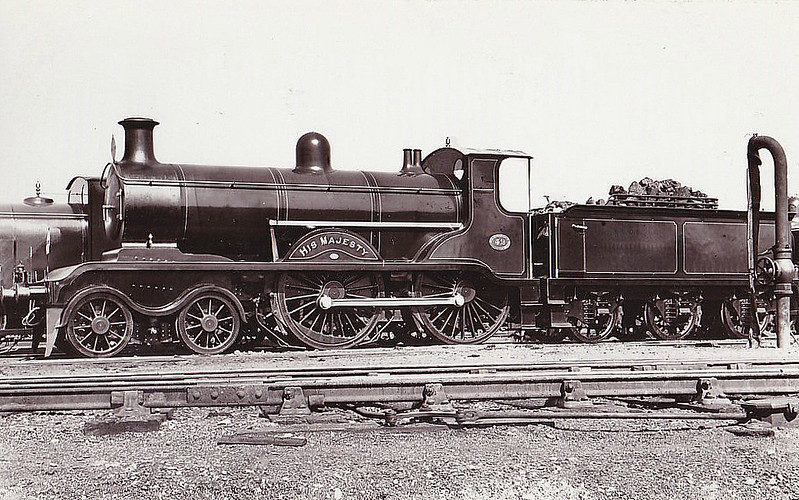 42 HIS MAJESTY - Billinton Class B4 4-4-0 - built 06/02 by Brighton Works - 1931 to SR No.2042 - 04/47 withdrawn from Eastbourne MPD.