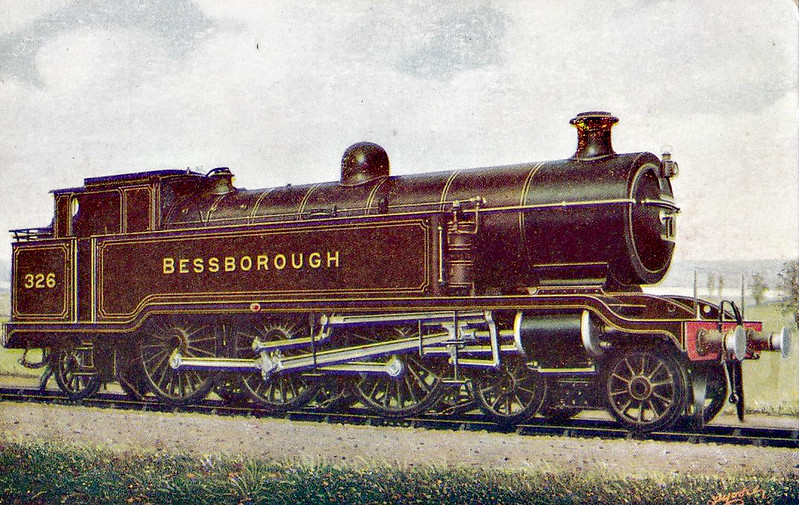 326 BESSBOROUGH - Marsh Class J 4-6-2T - built 03/12 by Brighton Works - 1931 to SR No.2326, 05/48 to BR No.32326 - 06/51 withdrawn from 75A Brighton.