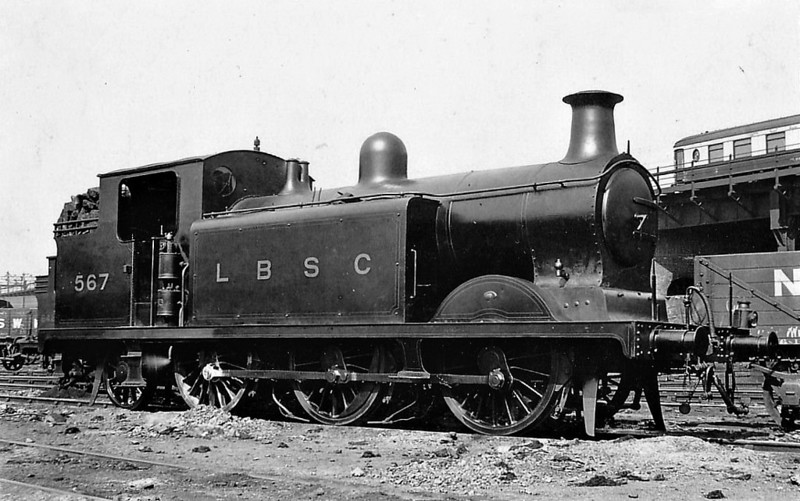 567 -  RJ Billinton Class E5 0-6-2T - built 10/02 by Brighton Works as LBSCR No.567 FRESHWATER - 1931 to SR No.2567, BR No.32567 not applied - 11/49 withdrawn from 75A Brighton.