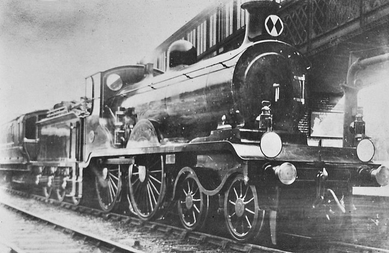 65 SANDRINGHAM -  Billinton Class B4 4-4-0 - built 08/01 by Sharp Stewart & Co. - 1931 to SR No.2049 - 1931 to SR No.2065 - 05/34 withdrawn.
