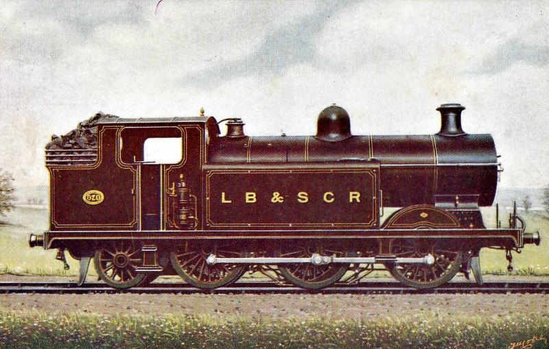 570 - RJ Billinton Class E5 0-6-2T - built 11/02 by Brighton Works as LBSCR No.570 ARMINGTON - 03/11 rebuilt as Class E5X, 1931 to SR No.2570, 03/51 to BR No.32570 - 01/56 withdrawn from 75A Brighton.