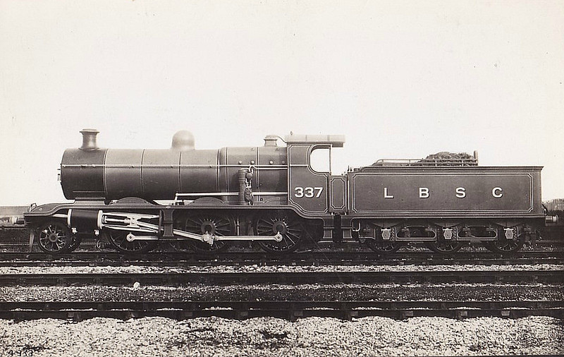 337 - Billinton LBSCR Class K 2-6-0 - built 09/13 by Brighton Works - 1931 to SR No.2337, 09/48 to BR No.32337 - 12/62 withdrawn from 75A Brighton.