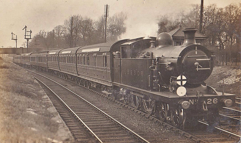 26 - Marsh Class I3 4-4-2T - built 03/09 by Brighton Works - 1931 to SR No.2026, 10/49 to BR No.32025 - 09/51 withdrawn from 75E Eastbourne.