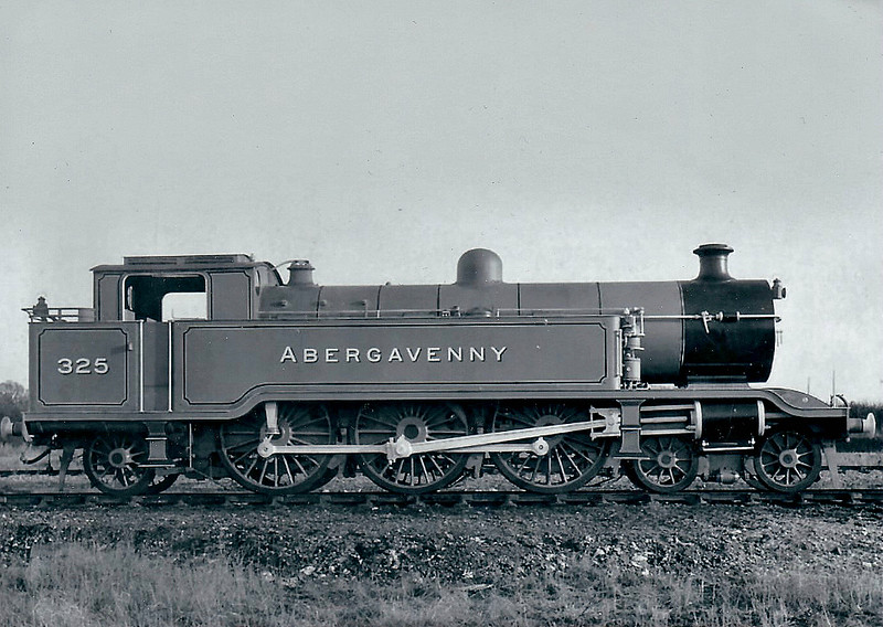 325 ABERGAVENNY - Marsh Class J 4-6-2T - built 12/10 by Brighton Works - 1931 to SR No.2325, 03/49 to BR No.32325 - 06/51 withdrawn from 75A Brighton.