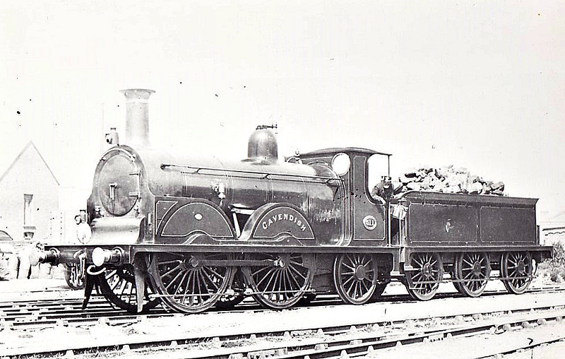 511 CAVENDISH - Stroudley Richmond Class 0-4-2 - built 03/80 by Brighton Works as LBSCR No.211 BEACONSFIELD - 11/1885 to LBSCR No.211 CAVENDISH, 10/1897 to LBSCR No.511 CAVENDISH, 01/01 to BSCR No.611 CAVENDISH - 12/02 withdrawn.