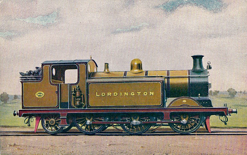 584 LORDINGTON - 570 - RJ Billinton Class E5 0-6-2T - built 11/03 by Brighton Works - 1931 to SR No.2584, 05/48 to BR No.32584 - 02/51 withdrawn from 75E Three Bridges.