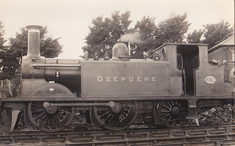 291 DEEPDENE - Stroudley LBSCR Class D1 0-4-2T - built 05/1879 by Brighton Works - 10/26 withdrawn.