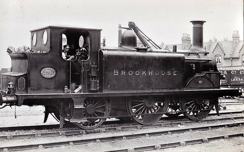 230 BROOKHOUSE - Stroudley Class D1 0-4-2T - built 10/1884 by Brighton Works - 06/26 withdrawn.