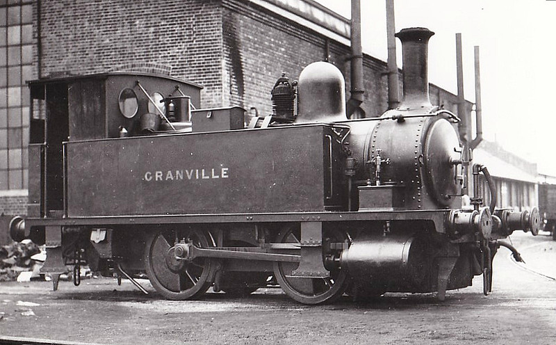 102 GRANVILLE - Adams LSWR Class B4 0-4-0T - built 12/1893 by Nine Elms Works - 12/50 to BR No.30102 - 09/63 withdrawn from 71A Eastleigh - preserved.