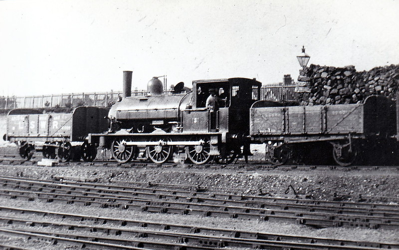 131 - Beattie LSWR Class 0330 0-6-0ST - built 1882 by Beyer Peacock & Co., Works No.2127 - 1911 to LSWR Duplicate List as No.0131 - 1923 to SR as No.0131 - 1924 withdrawn - seen here at Bournemouth in about 1904.
