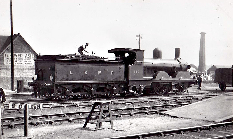 653 - Adams LSWR Class A12 0-4-2 - built 04/1895 by Nine Elms Works - 04/32 withdrawn from Faversham MPD.