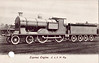 395 - Drummond LSWR Class S11 4-4-0 - built 06/03 by Nine Elms Works - BR No.30395 not applied - 10/51 withdrawn from 71D Fratton.