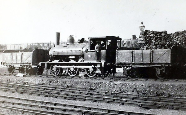 131 - Beattie SLWR Class 330 0-6-0ST - built 1882 by Beyer Peacock & Co., Works No.2127 - 1911 to LSWR Duplicate List as No.0131 - 1923 to SR - 1924 withdrawn - seen here at Bournemouth in 1904.